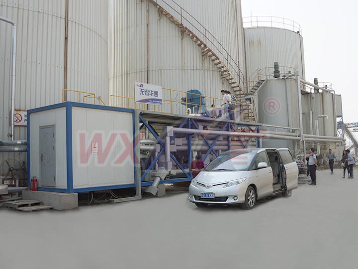 Suzhou Kaida 30 tons of mobile integrated modified asphalt eq