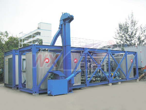 Shenzhen really want technology 20 tons of mobile integrated modified asphalt equipment