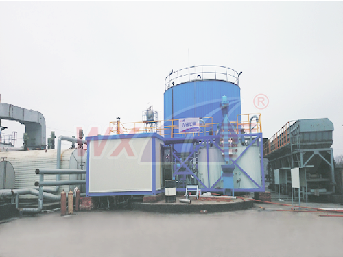 Zhangjiagang Wing force of 20 tons of mobile integrated modified asphalt equipment