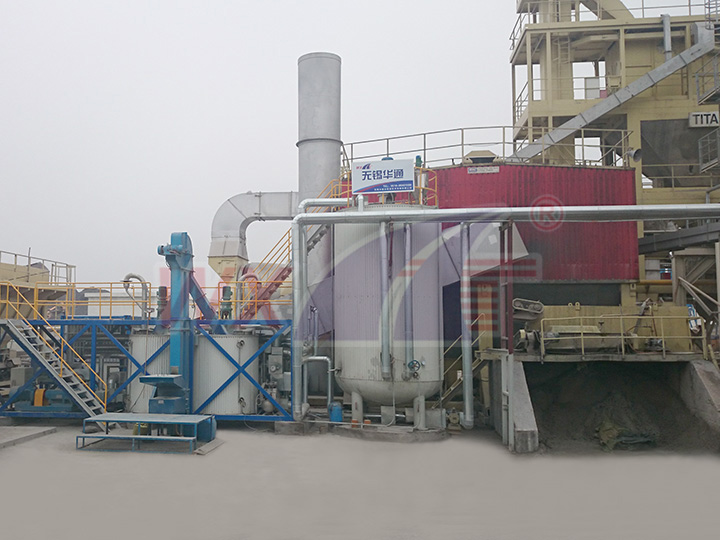 Suzhou Chong Chong 15 tons of mobile integrated modified asphalt equipment