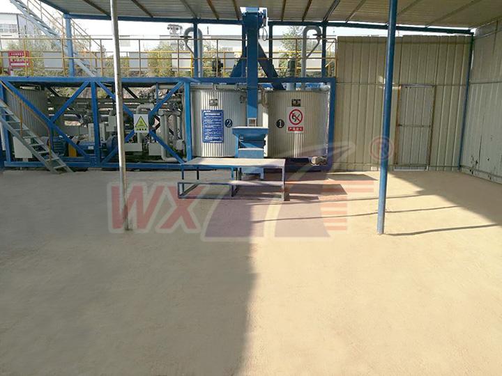 Shanxi Linfen high speed pavement engineering modified asphalt equipment